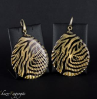 tigrismintas-fülbevalo